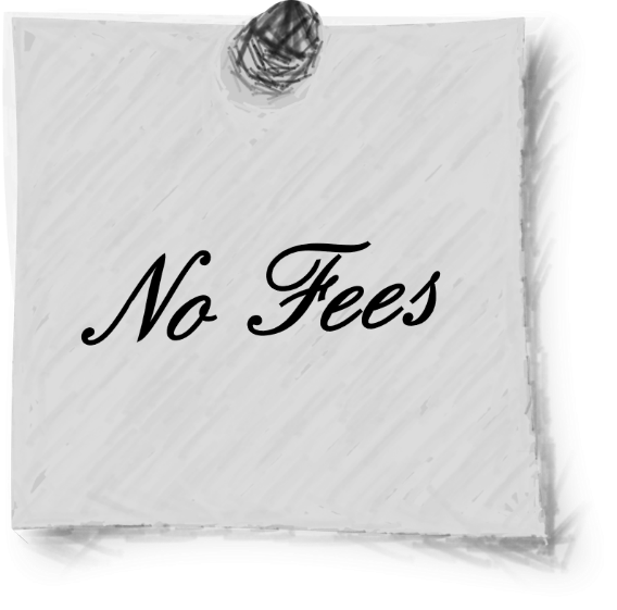 We do not charge fees from clients.